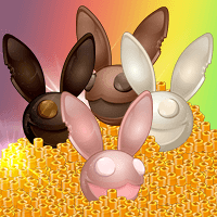 Obtiens un Unikz exclusif DeadRabbit en chocolat avec les Wooz !