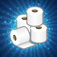 ¡Fiesta de papel higiénico!