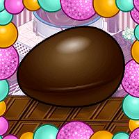 Quebre os ovos de chocolate!